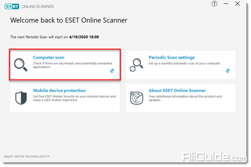 ESET Online Scanner_2